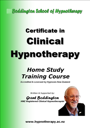 HNZ                                     Certificate in Clinical Hypnotherapy                                     Course Manual